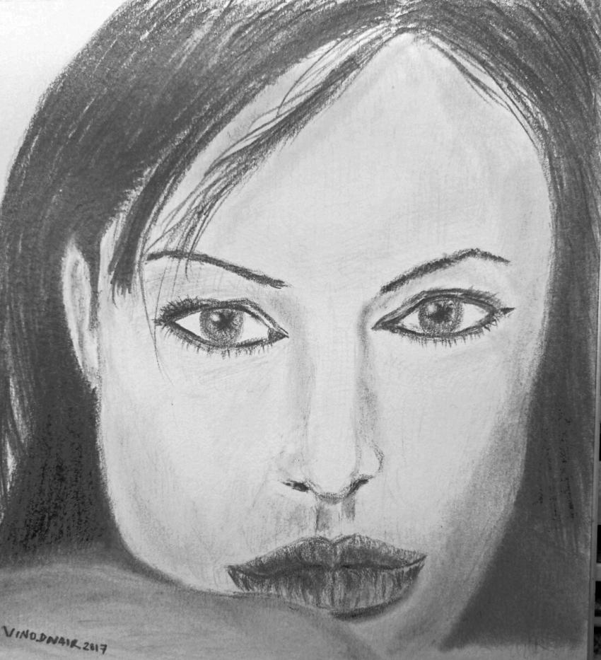 Angelina Jolie by vinodnair